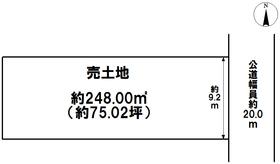 名古屋市中川区法華西町 建築条件なし土地