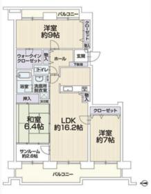 ヴィラクレアールB棟/札幌市北区 画像3