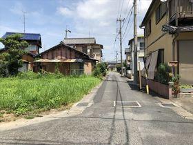 津島市老松町 建築条件なし土地
