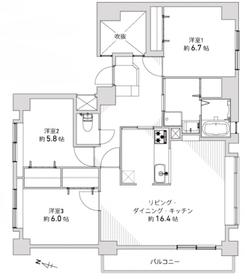 アクロビュー北大前III/札幌市北区 画像3