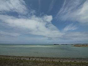 徒歩1分で南浜公園の海に到着!