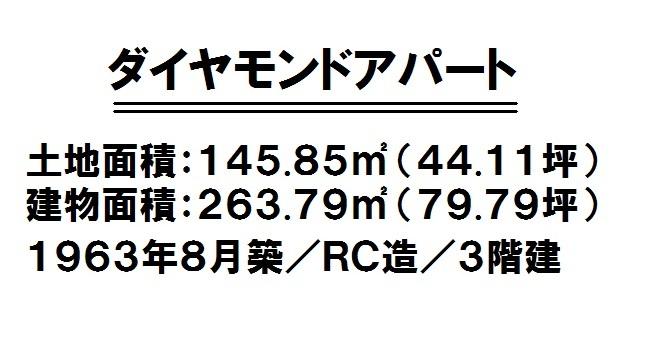 【間取り】 リゾート向き収益物件!現状渡し(古屋付き)・建築条件なし!天妃小学校徒歩7分(約550m)