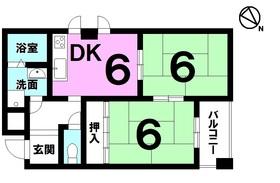 【間取り】 【オーナーチェンジ物件】JR瀬田駅徒歩5分・スーパー・郵便局・銀行まで徒歩10分圏内