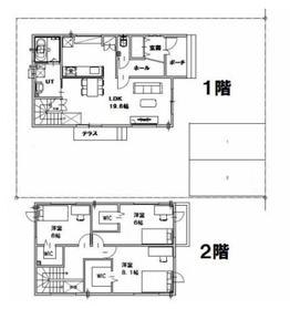北区篠路町上篠路B棟新築戸建/札幌市北区 画像3