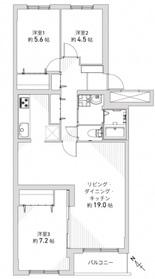 マンションニュー山の手/札幌市西区 画像2