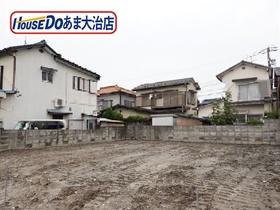 あま市木田三町懸 建築条件なし土地