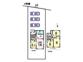 リナージュ 18-2期 愛西市鵜多須町中道 全8棟 4号棟 新築一戸建て