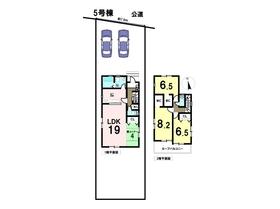 リナージュ 18-2期 愛西市鵜多須町中道 全8棟 5号棟 新築一戸建て