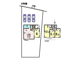 リナージュ 18-2期 愛西市鵜多須町中道 全8棟 8号棟 新築一戸建て