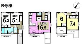 メルディア 名古屋市南区曽池町3丁目 全2棟 B号棟 新築一戸建て