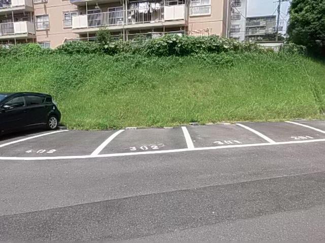 駐車場は1台無料なのでうれしい!