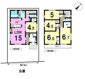 ケイアイフィット 名古屋市南区上浜町2期 全1棟 新築一戸建て
