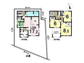 リーブルガーデン 愛西市西川端町七畝割 全3棟 3号棟 新築一戸建て