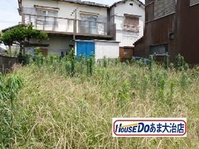 大治町鎌須賀川畔 建築条件なし土地