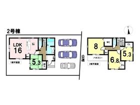 ファーストタウン 第1名古屋市中川区島井町 全2棟 2号棟 新築一戸建て