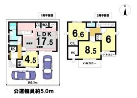 ジー・ステージ名古屋市港区川間町II 全1棟 新築一戸建て