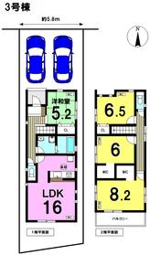 リナージュ 名古屋市南区源兵衛町19-1期 全3棟 3号棟 新築一戸建て