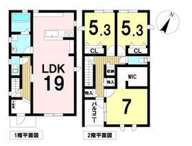 名古屋市港区稲永3丁目 全1棟 新築一戸建て