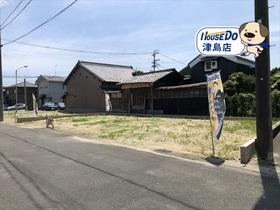 津島市北町 全2区画 1号地 建築条件なし土地