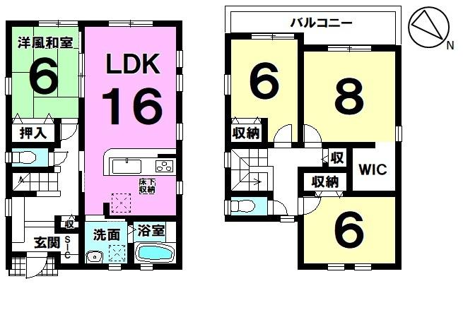 ◇全居室6帖以上◇それぞれの居室にゆとりがあり快適な暮らしが実現