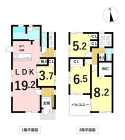 ファーストタウン 名古屋市中川区新家1丁目 全1棟 新築一戸建て