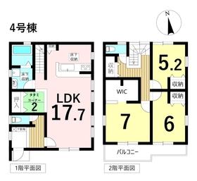 リーブルガーデン 名古屋市中川区横前町 全8棟 4号棟 新築一戸建て