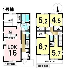 ケイアイフィット名古屋市港区神宮寺2丁目 全2棟 1号棟 新築一戸建て