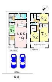 クレイドルガーデン 名古屋市中川区笈瀬町2丁目 全1棟 新築一戸建て