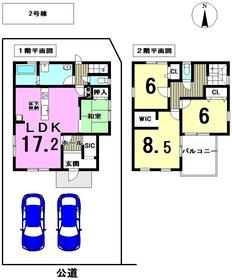 リーブルガーデン津島市中之町 全2棟 2号棟 新築一戸建て