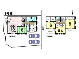 あま市篠田4丁目II 全3棟 1号棟 新築一戸建て