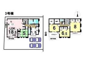 あま市篠田4丁目II 全3棟 3号棟 新築一戸建て