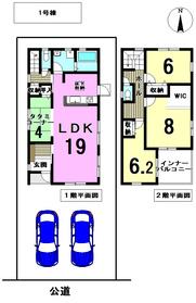 リーブルガーデン 津島市昭和町4丁目 全2棟 1号棟 新築一戸建て