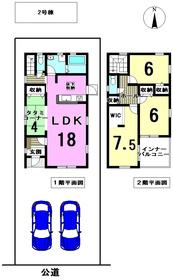 リーブルガーデン 津島市昭和町4丁目 全2棟 2号棟 新築一戸建て