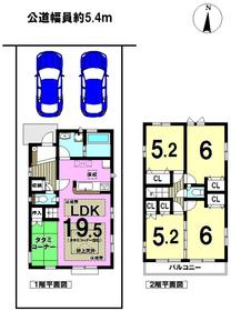 ブルーミングガーデン 名古屋市南区三吉町3丁目 全1棟 新築一戸建て