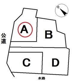 津島市中一色町市場 全4区画 A号地