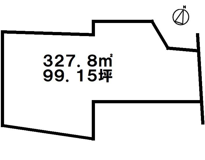 【間取り】 【土地面積:327.8平米】真和志幼稚園・小学校まで150M。建築条件なし!戸建建設にいかがですか?