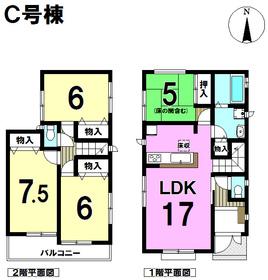 ハートフルタウン 名古屋市南区曽池町2期 全4棟 C号棟 新築一戸建て