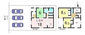 クレイドルガーデン名古屋市港区八百島第1 全3棟 2号棟 新築一戸建て
