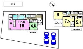 リーブルガーデン愛西市大野山町元余代 全2棟 2号棟 新築一戸建て