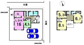 リーブルガーデン 津島市城山町2丁目 全1棟 新築一戸建て