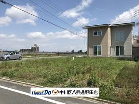 名古屋市中川区下之一色町字三角 B号地 建築条件なし土地
