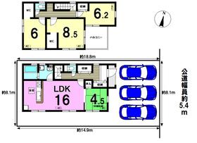リーブルガーデン 名古屋市南区中割町1丁目 全1棟 新築一戸建て
