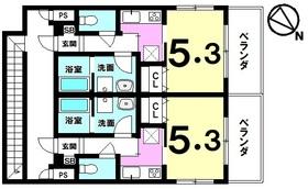 【間取り】 おもろまち駅徒歩6分!1フロア2世帯・4階建て・2018年築!国際通りや新都心エリアにアクセス良好!