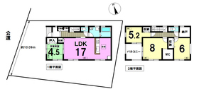 ○リーブルガーデン津島市城山町3丁目 全1棟 新築一戸建て