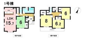 リーブルガーデン名古屋市港区船頭場3丁目 全3棟 1号棟 新築一戸建て