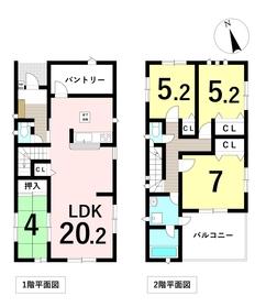 クワイエ 名古屋市中川区澄池町 全4棟 3号棟 新築一戸建て