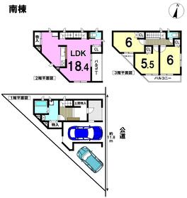 ●○Reqlustage 名古屋市南区豊田 全2棟 南棟 新築一戸建て