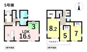 ○リーブルガーデン 名古屋市中川区法華西町 全6棟 5号棟 新築一戸建て