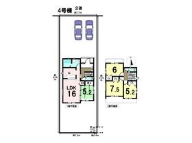 あま市森3丁目2期 全8棟 4号棟 新築一戸建て