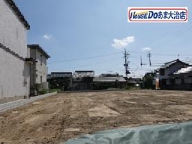●大治町北間島屋敷 全3区画 B号地 建築条件なし土地